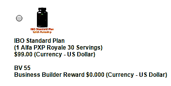 Standard plan pic